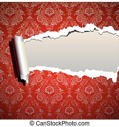 quadro, papel parede, natal, fundo