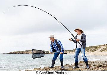 quadro, pescador