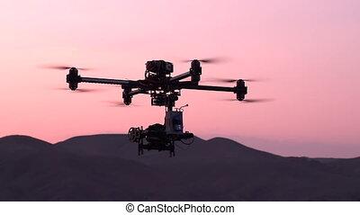 Quadrocopter in the Exploration Are