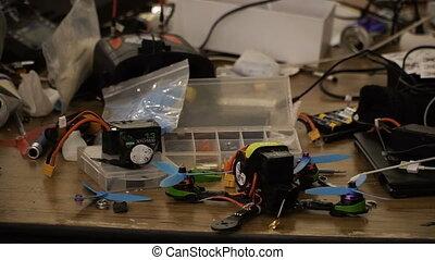 Quadrocopter. Repair of quadrocopters