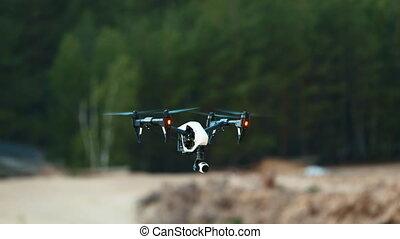Quadrocopters Inspire in flight - Quadrocopters (drone) in ...