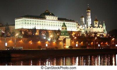 quai, fusée, cavalcade, kremlin, motorcade, moscou