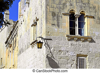 Quaint Little Medieval Home - Medieval facade of house in...