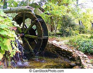 QUAINT TENNESSEE WATERWHEEL - This waterwheel was in...