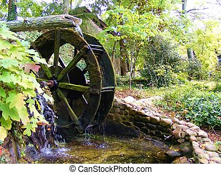 QUAINT TENNESSEE WATERWHEEL - This waterwheel was in...