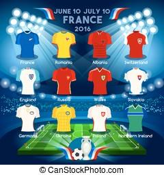 Qualified Teams EURO 2016 - France EURO 2016 Championship...
