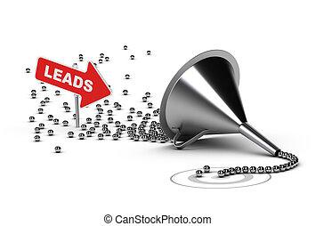 qualifying, 銷售, 領導, 合格, 銷售