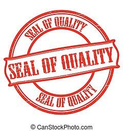 qualità, sigillo