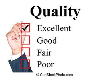 qualité, évaluation, formulaire