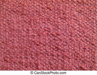 qualitativo, rosso, tessuto, texture., astratto, fondo.,...