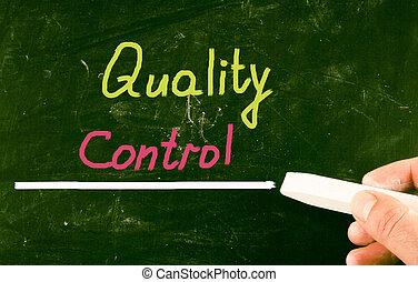 quality control concept