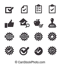 quality control icons