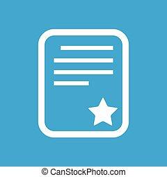 Quality document icon