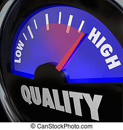 Quality Fuel Gauge Low Improving to High Increase - A fuel...