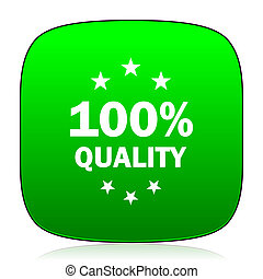 quality green icon