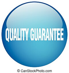 quality guarantee blue round gel isolated push button