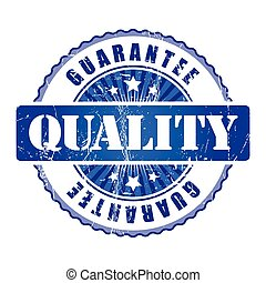Quality  Guarantee Stamp.
