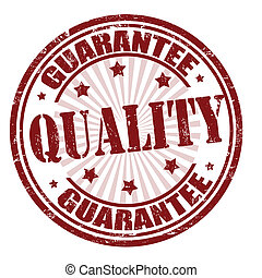 Quality guarantee stamp