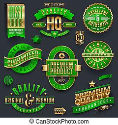 Quality & guaranteed vector labels