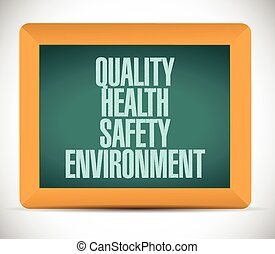 quality, health, safety