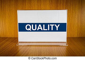 Quality on Acrylic card holder