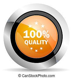 quality orange icon