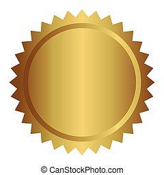 Quality seal guaranteed icon