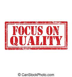 quality-stamp, foco