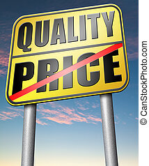 quality versus product price