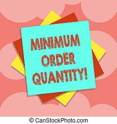 quantity., colorez photo, couche, minimum, vendre, écriture,...