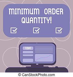 quantity., concept, couleur, texte, minimum, vide, vendre,...