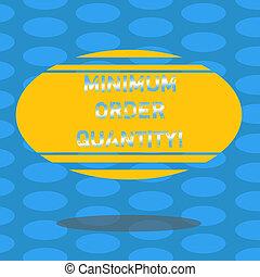 quantity., concept, couleur, texte, photo., forme, minimum,...