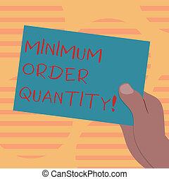 quantity., concept, couleur, texte, photo., papier, vide,...
