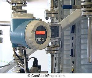 quantity indicator meter