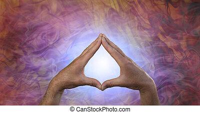 quantum, énergie, guérison