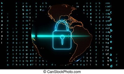 Quantum computer futuristic technology digital holographic and matrix analysis processing for security big data around the world