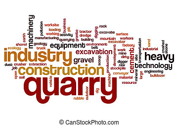 Quarry word cloud