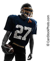 quarterback american football player man portrait
