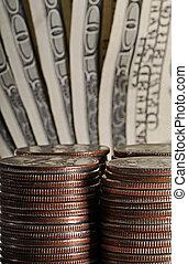 Quarters and Hundreds