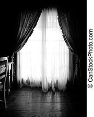 quarto escuro
