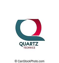 Quarts technics vector sign - Quarts technics vector icon....