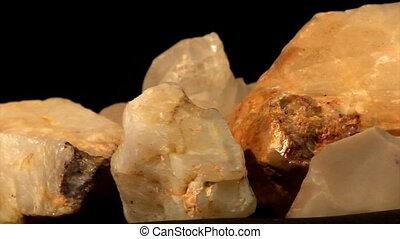 quartz and tiff crystals