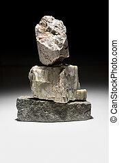 Quartz crystal  - Still life of rocks