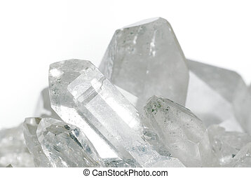 Quartz crystals - Group of quartz crystals