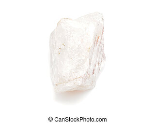 quartz on a white background