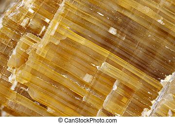 Quartz (silicon dioxide) crystals