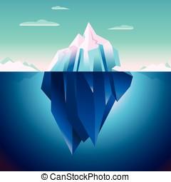 Quarz Iceberg Serenity Lowpoly Dream - Quartz Iceberg...