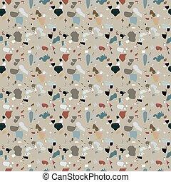 quarzo, naturalistico, addizione, pattern., calcite, pavimento, seamless, illustrazione, vettore, vetro, dolomite., marmo, granito