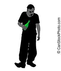 quatre, alcoolisme