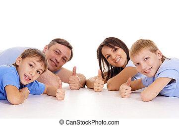 quatre, famille